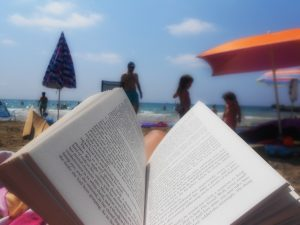 Summer Reading On The Beach